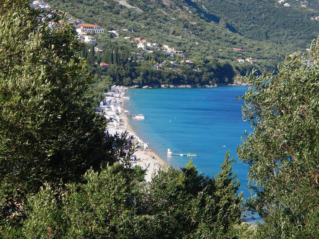 Corfù - Nissaki beach