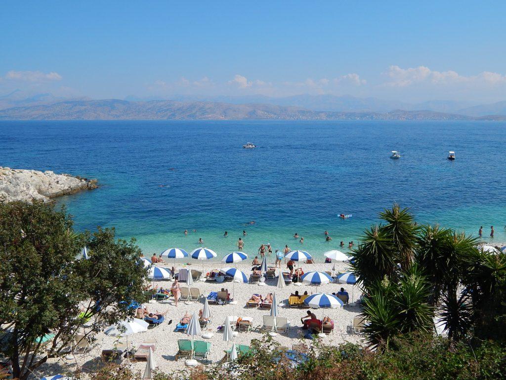 Corfù - Bateria beach