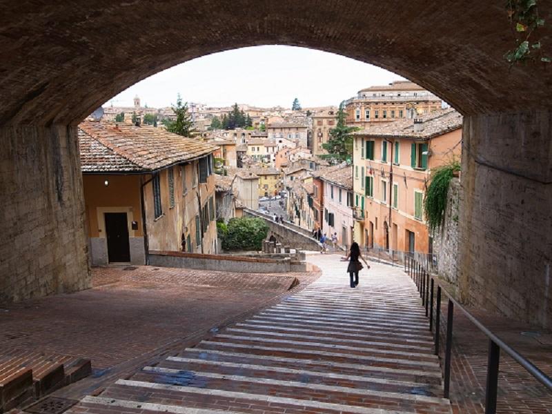 Perugia - L'antico acquedotto medioevale