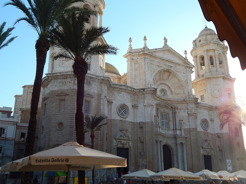 Andalusia - La cattedrale di Cadiz