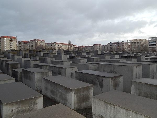 Il monumento alla memoria delle vittime dell'olocausto