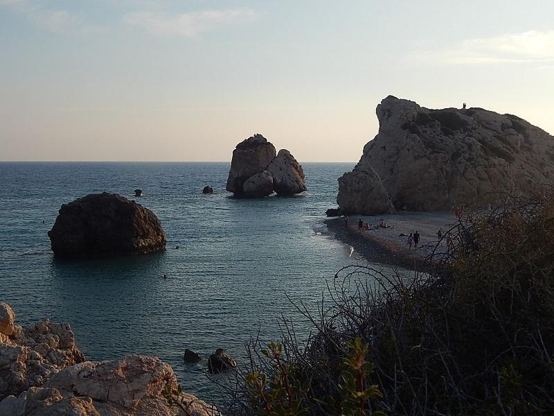 Petra Tou Romiou, la roccia di Afrodite al tramonto