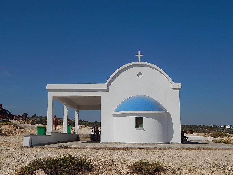 La chiesetta di Agia Anargyroi a Capo Greco