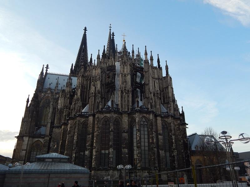 Itinerario a Colonia - L'imponente duomo gotico