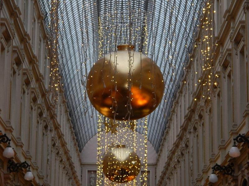Il tetto di vetro delle Galeries Royales Saint-Hubert nel cuore di Bruxelles