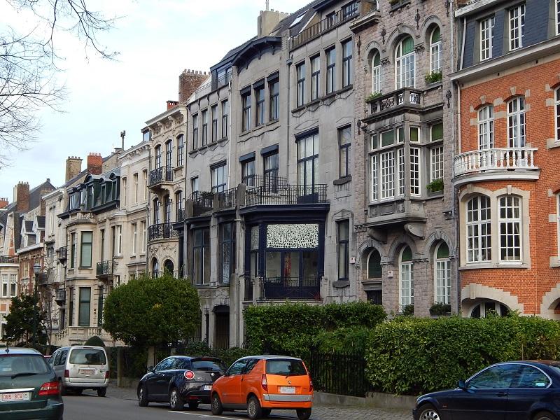 I palazzi del quartiere Ixelles