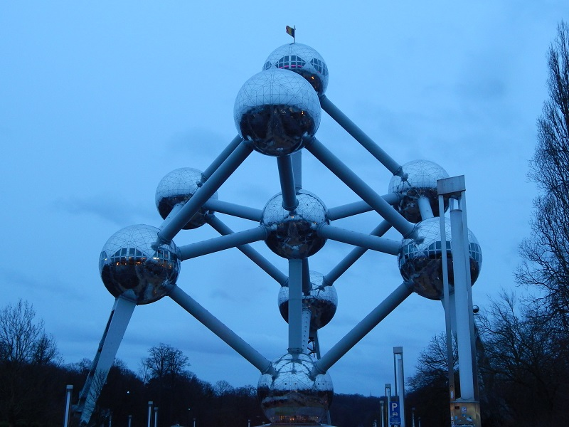 L'Atomium, simbolo di Bruxelles