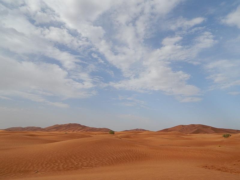 Le maestose dune del deserto del Sahara
