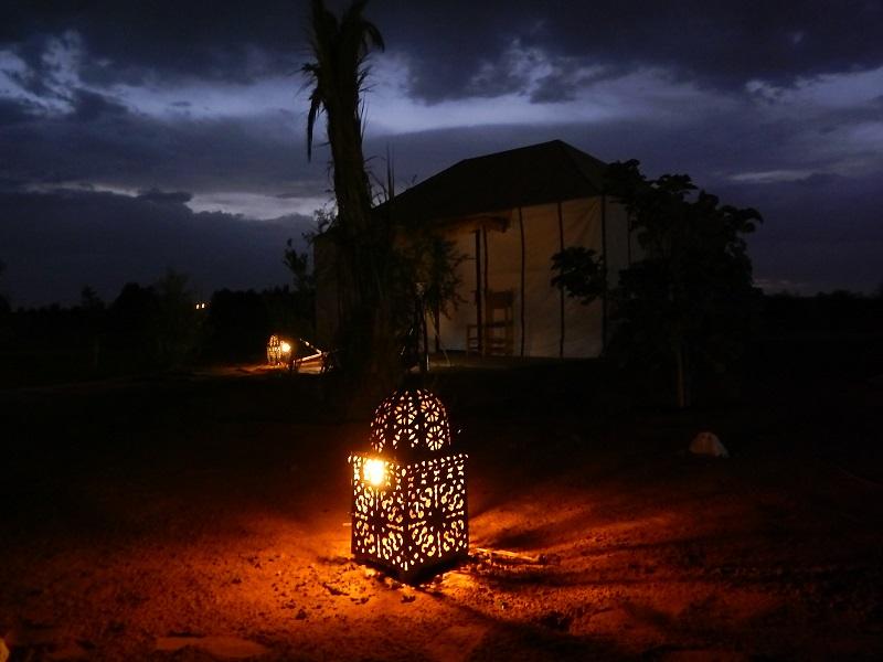 La nostra tenda nel deserto