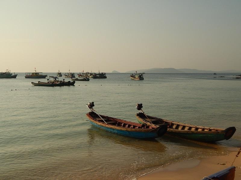 I pescherecci a Gahn Dau