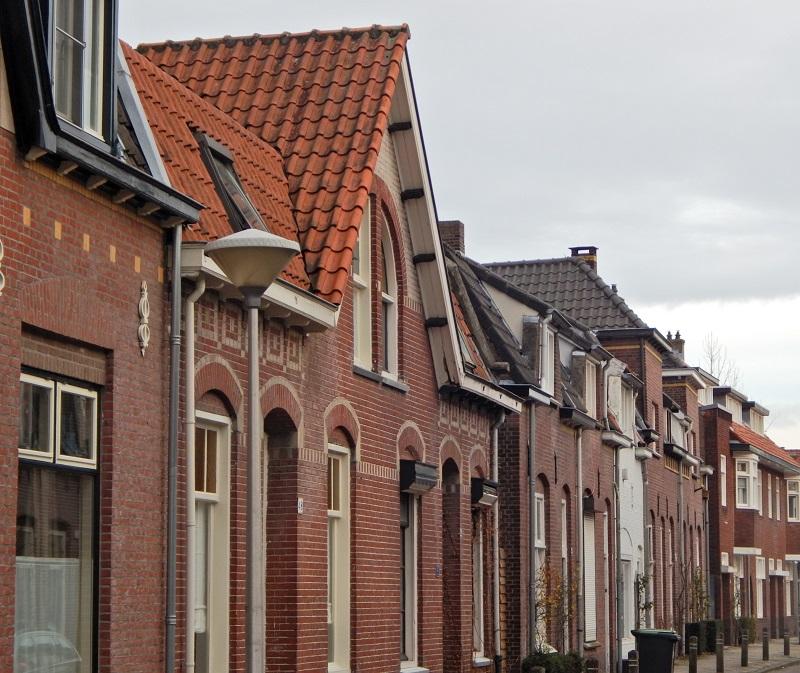 Un quartiere residenziale ad Eindhoven
