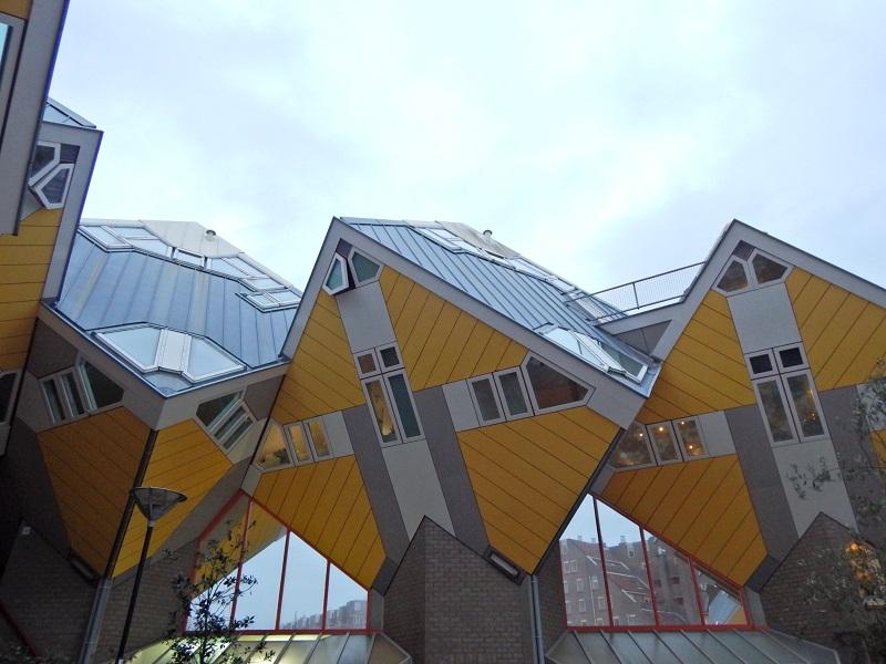 Le famose case cubiche a Rotterdam