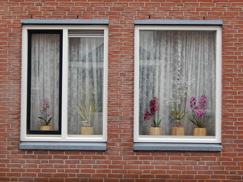 Passeggiando per un quartiere residenziale a Utrecht