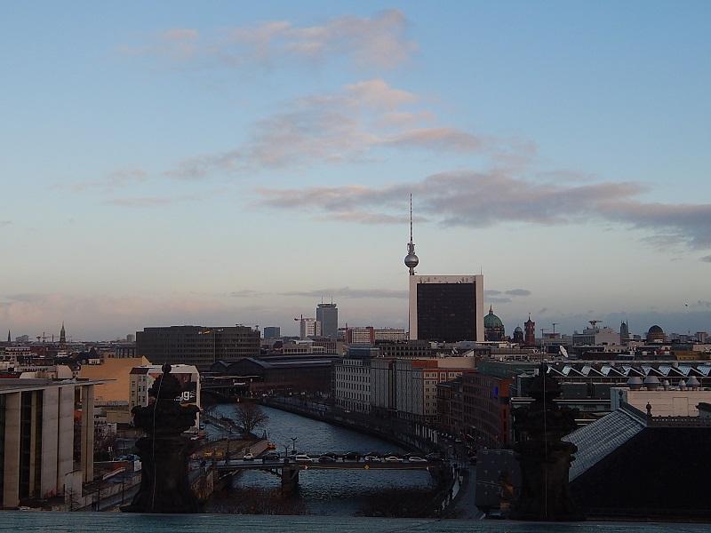 Il panorama dalla Cupola del Reichstag