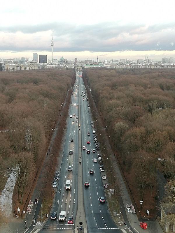 Il panorama dalla Colonna della Vittoria