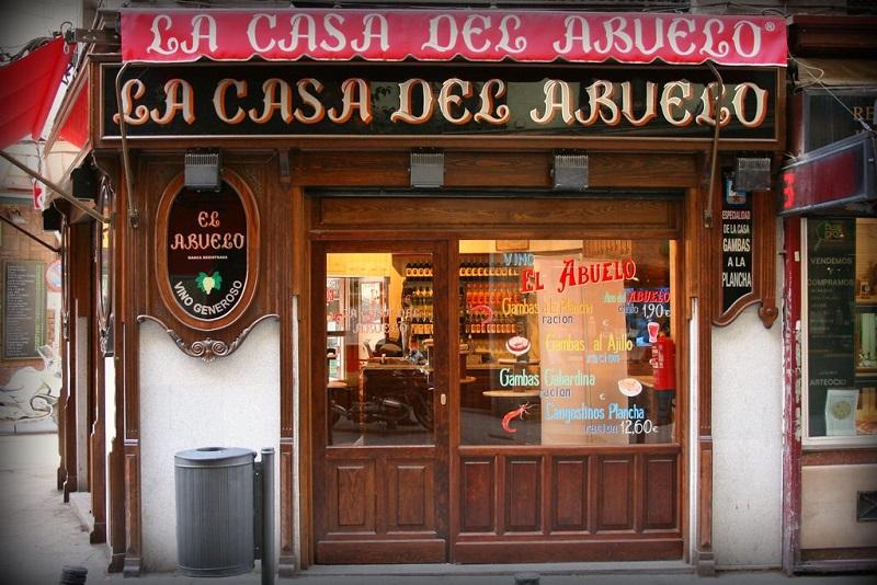 dove mangiare a Madrid: la casa del abuelo