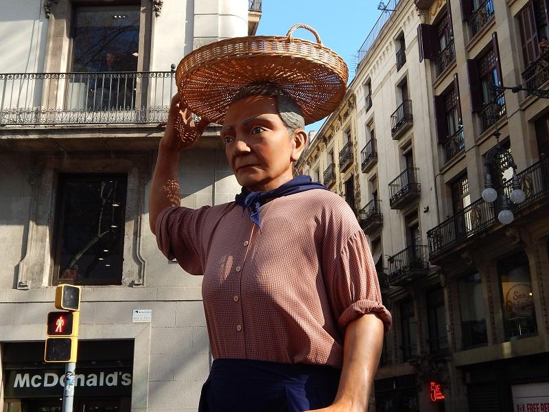 Festa di sant'Eulalia a Barcellona -la processione dei giganti