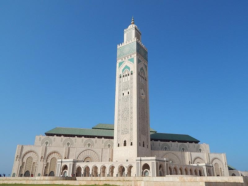on the road in Marocco: Casablanca