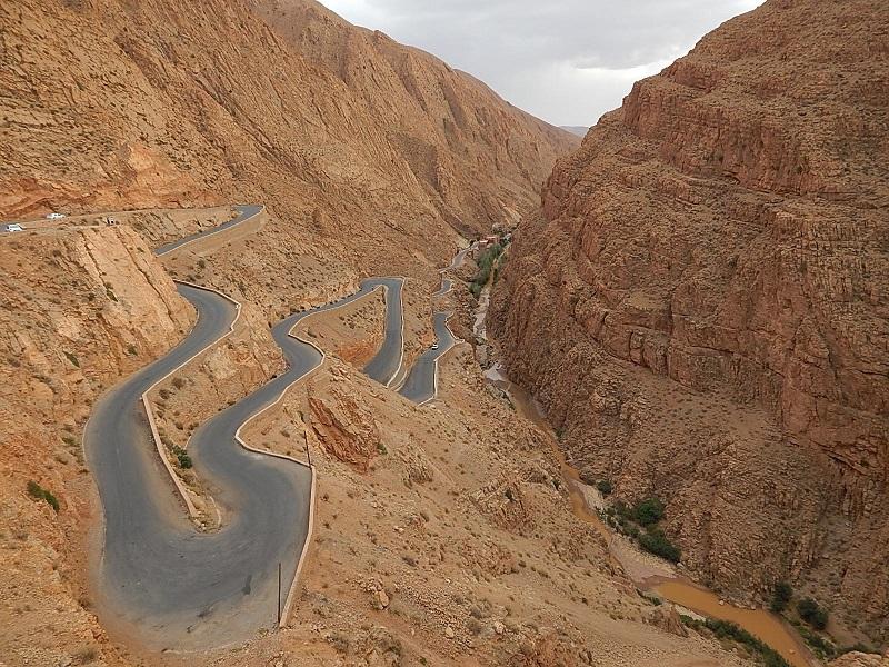 gorges du dades nel sud del Marocco