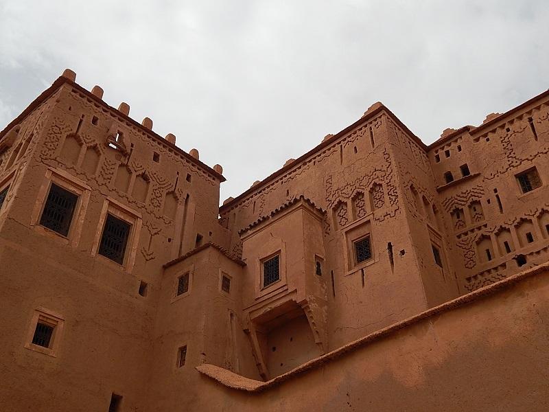 la kasbah di Taourirt a Ouarzazate