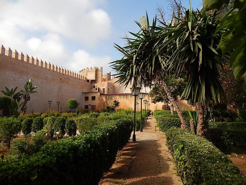 giardini andalusi a Rabat