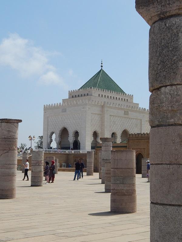 il mausoledo di mohammed V