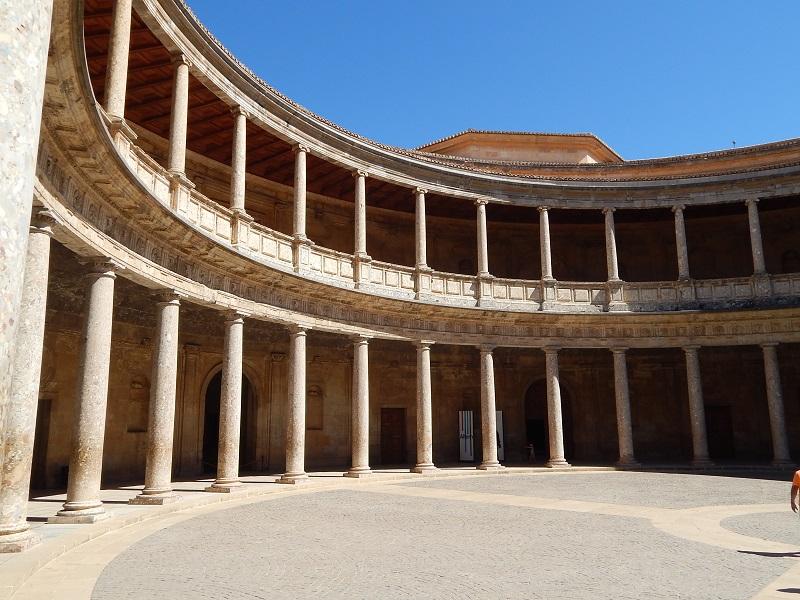 il palacio de carlos v all'alhambra