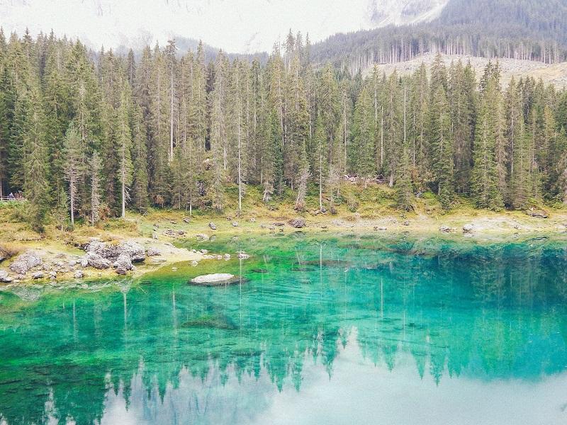 la leggenda del lago di carezza